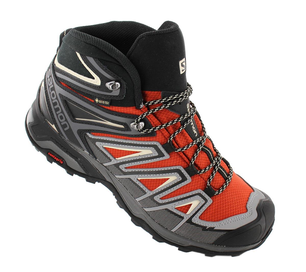 Details zu Salomon X ULTRA 3 MID GTX GORE TEX 409905 Herren Wanderschuhe Trekking Schuh qw5rW