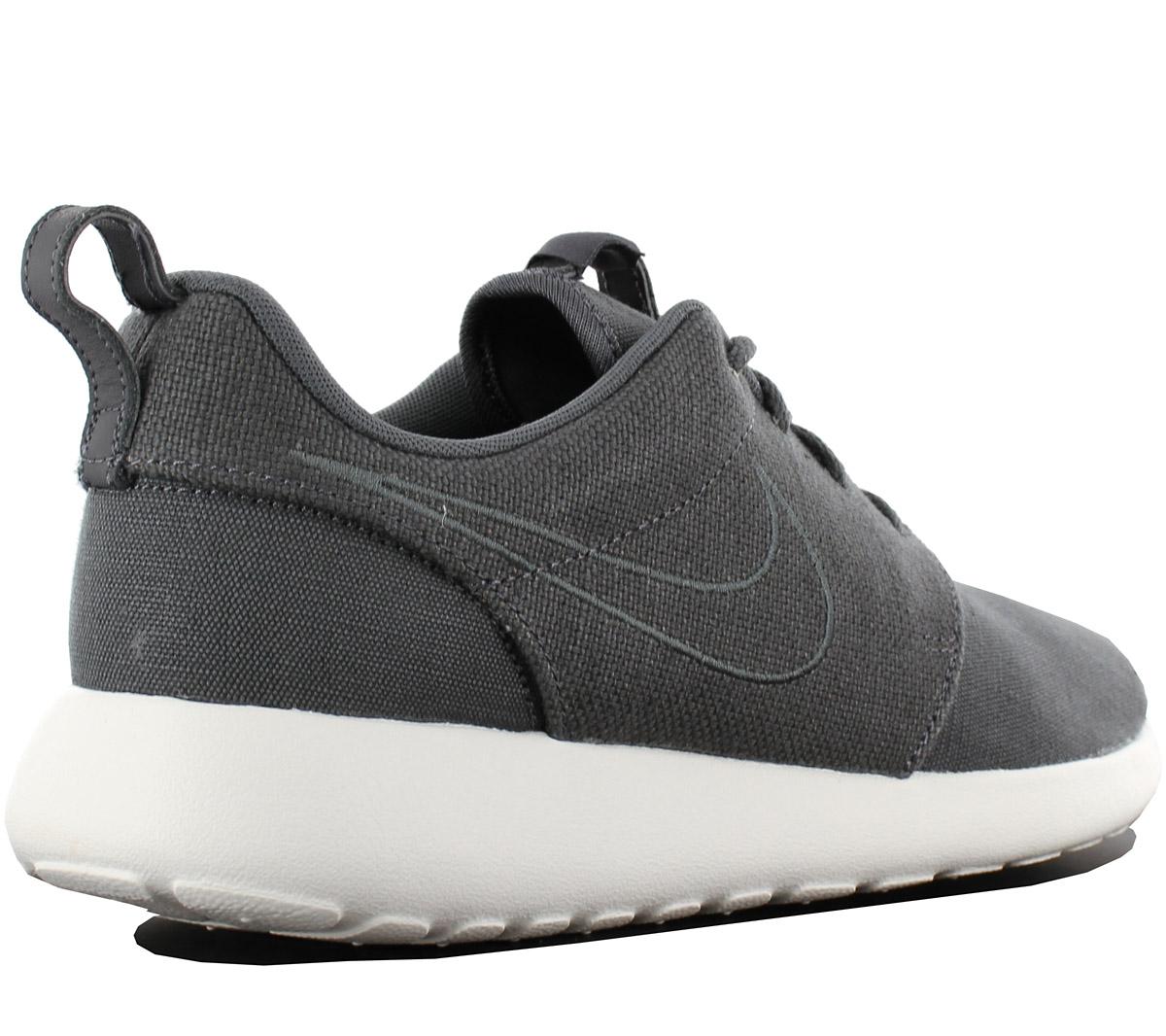 e96837dcbf077 Nike Roshe One Premium Men s Sneakers Shoes Textile Grey Run Two ...