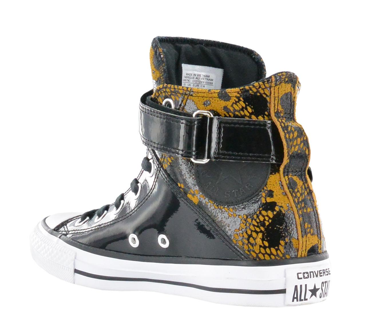 c8fe4a368243 Converse Chucks all Star Ct Brea Hi Antique Women s Shoes Black ...