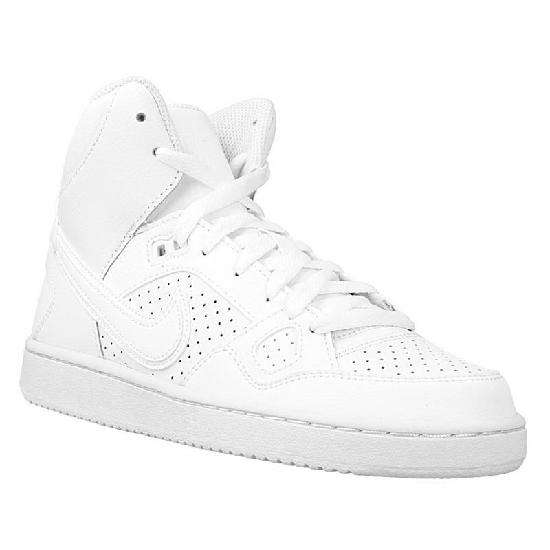 NEU Nike Son Of Force Mid Schuhe Weiß 615158-109 SBLE