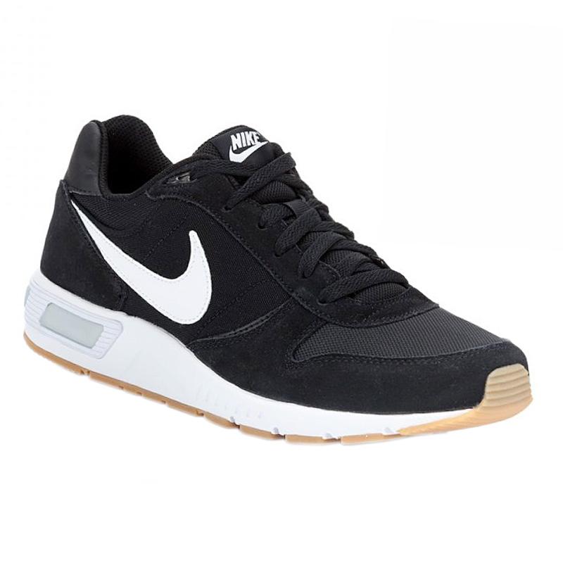 NEU Nike Nightgazer Herren Schuhe Schwarz-Weiß 644402-006 SALE