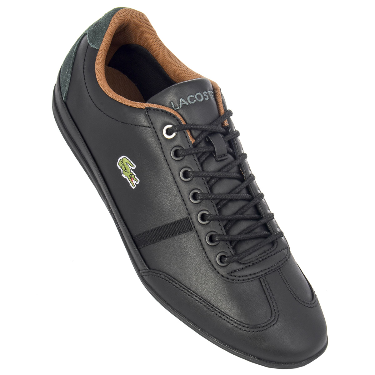 5647443bd8 NEUF Lacoste Misano Sport 7-34CAM004602H Hommes Baskets Chaussures Sneaker  SALE