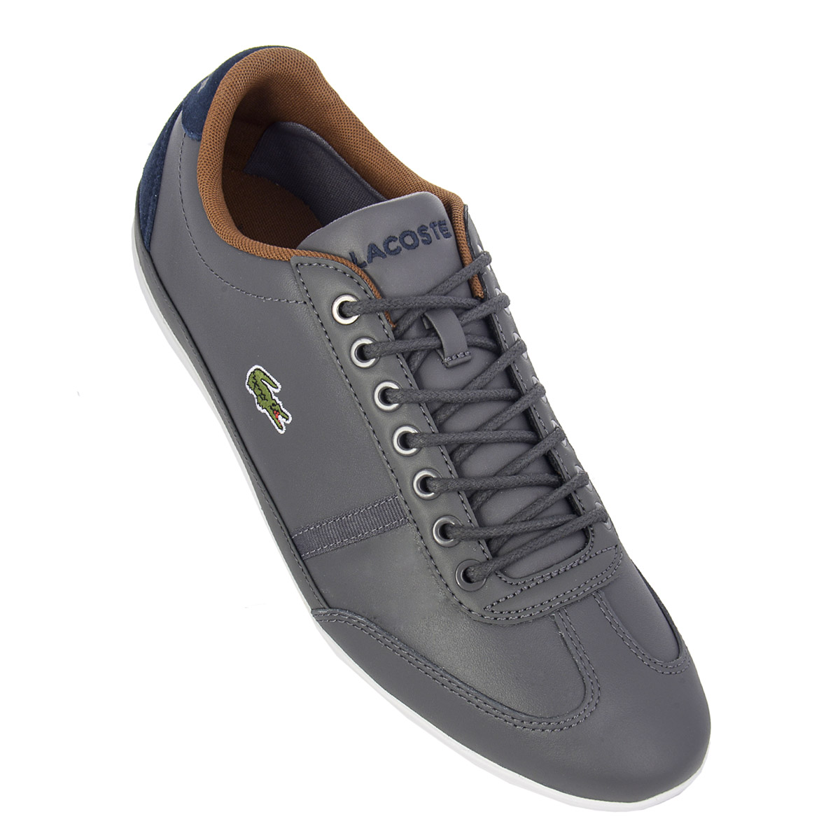 Mens Zu Lacoste Shoes Sneakers Misano Sport Cam0046248 Trainers Details New Sale wqZFYwx