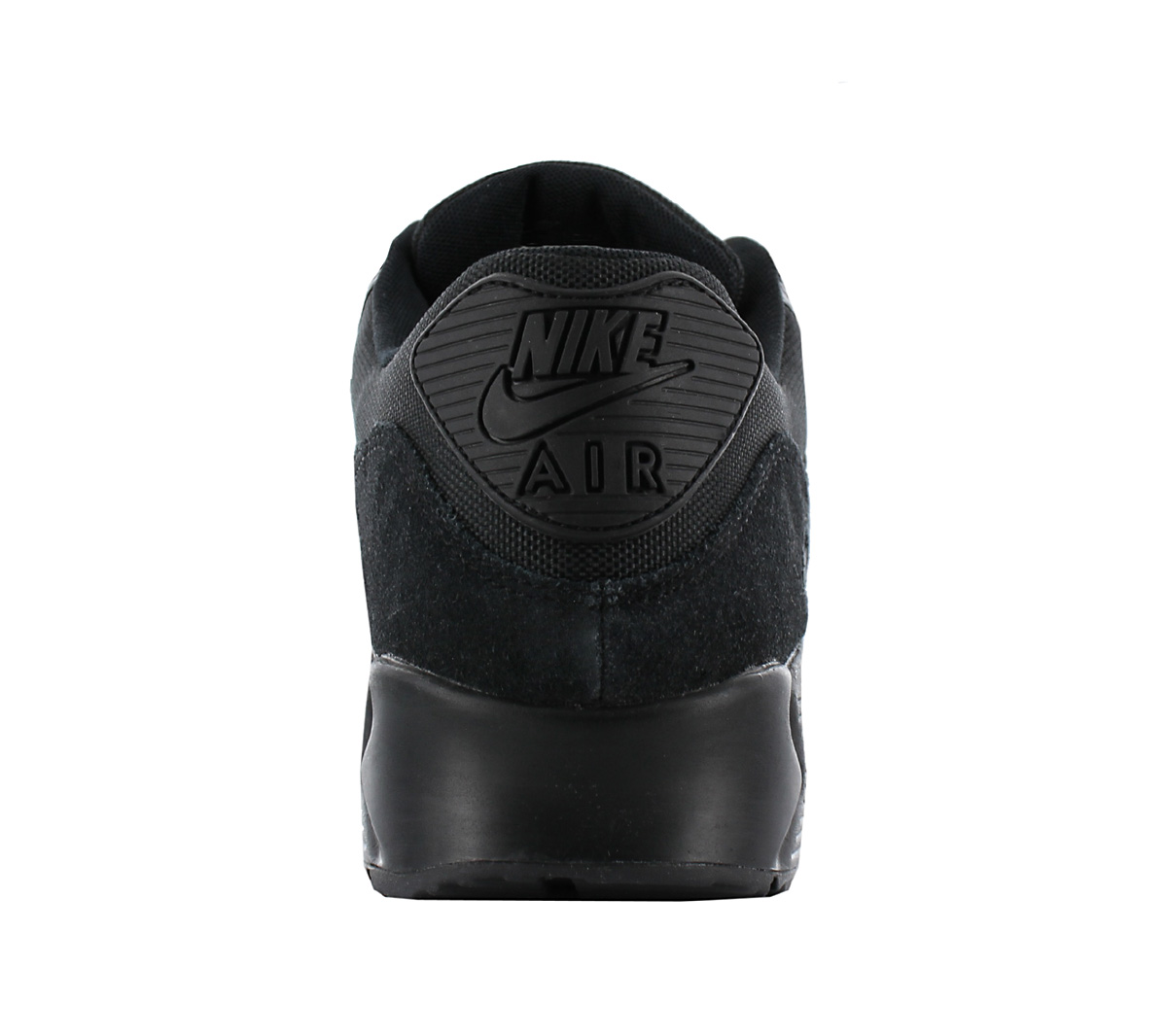 outlet store 33f63 8fba2 Nike Air Max 90 Leather Premium Men s Shoes Sneakers Black 700155 ...