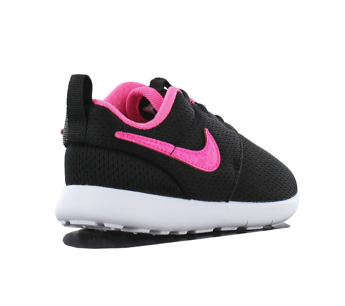 96fa09e1edf7 Nike Roshe One Tdv Childrens Shoes Toddler Baby Girl Black 749425 ...