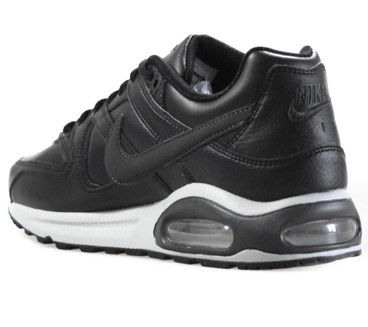 Detalles acerca de Nike Air Max Command Cuero Tenis De Cuero Negro 749760 001 Nuevo mostrar título original