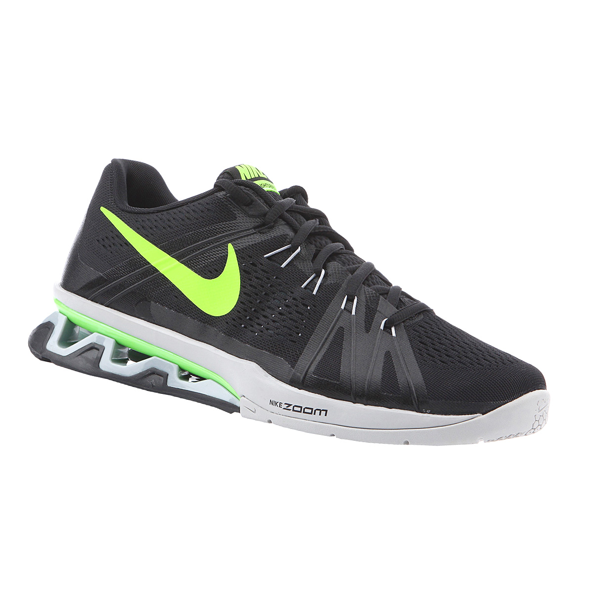 1d1a91c23d0d Nike Reax Lightspeed Black Shoes Men s Sneakers Running Shoes 8 Zoom ...