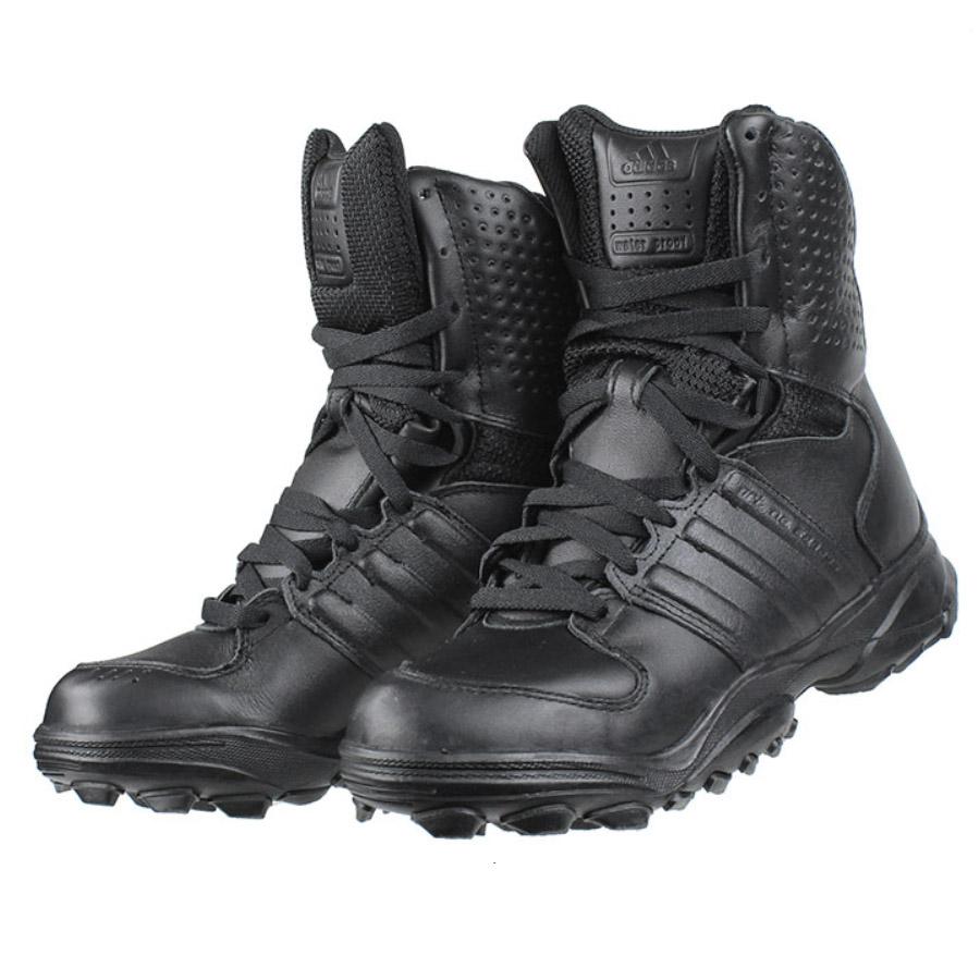 adidas gsg 9 2 stiefel schwarz einsatzstiefel boots schuhe leder polizei neu ebay. Black Bedroom Furniture Sets. Home Design Ideas
