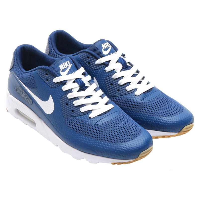 a35314456445 Nike Air Max 90 Ultra Essential Men s Sneakers Shoes Blue Premium ...