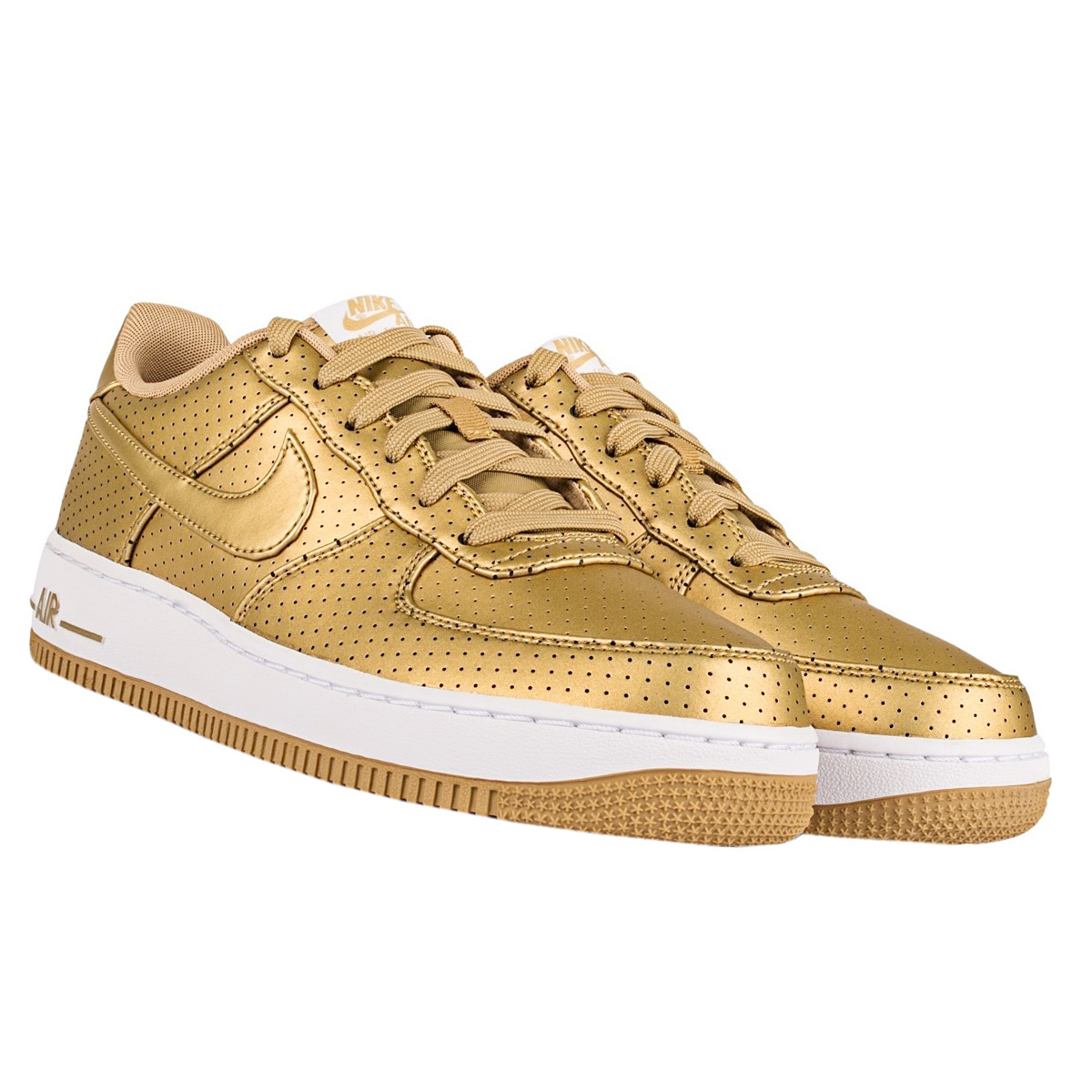 nike women air force 1 one lv8 gold edition shoes womens. Black Bedroom Furniture Sets. Home Design Ideas