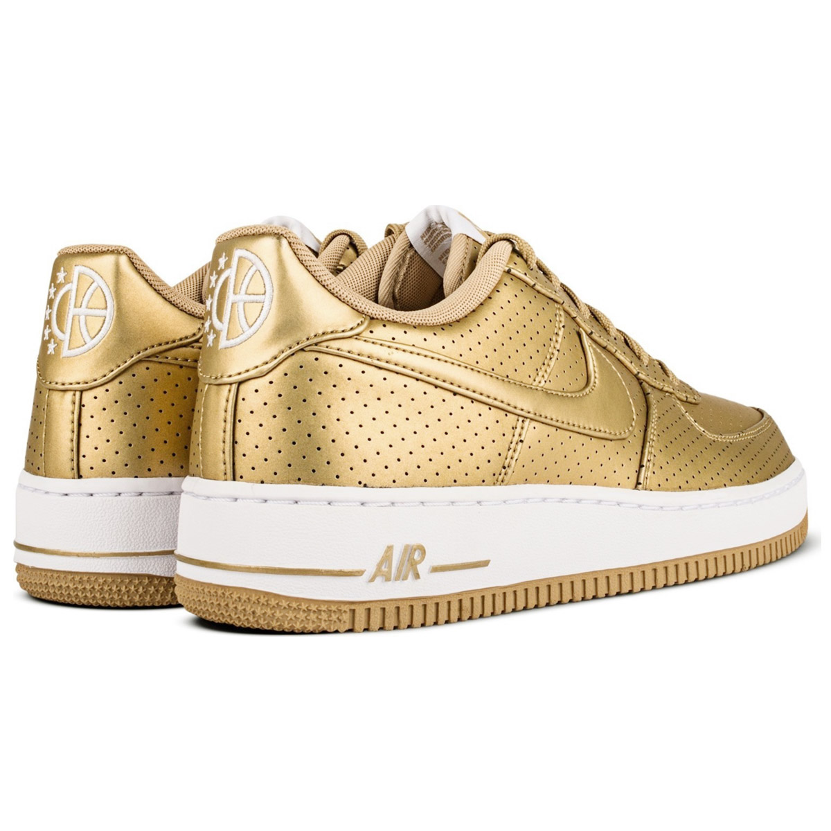 Nike Women Air Force 1 One LV8 GOLD EDITION Shoes Women's ...