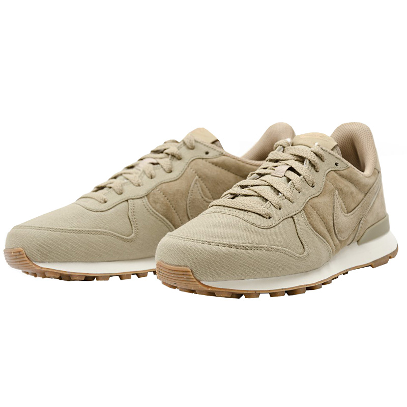 nike internationalist premium beige herren sneaker schuhe. Black Bedroom Furniture Sets. Home Design Ideas