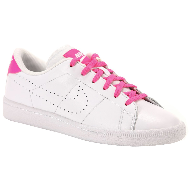 huge discount ae766 dd5c5 Nike Tennis Classic PRM GS White Pink Kids Youth Girls Womens Shoes  834151-106 UK 5. About this product. Picture 1 of 5 ...