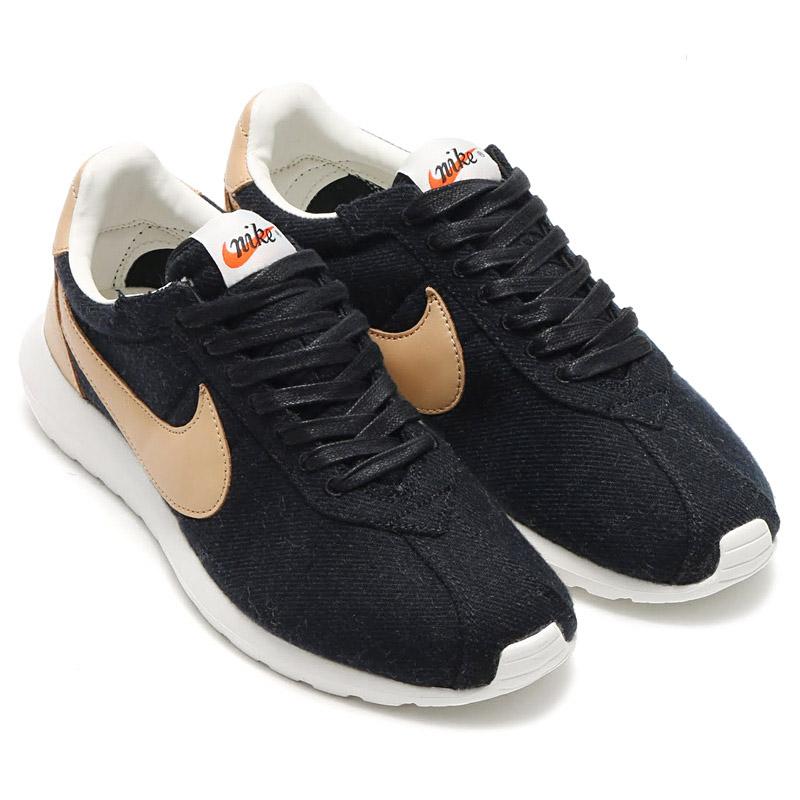 77fc6fbfdf52d Nike Roshe Ld-1000 Winter Wool Black Gold Men Running Shoes SNEAKERS ...