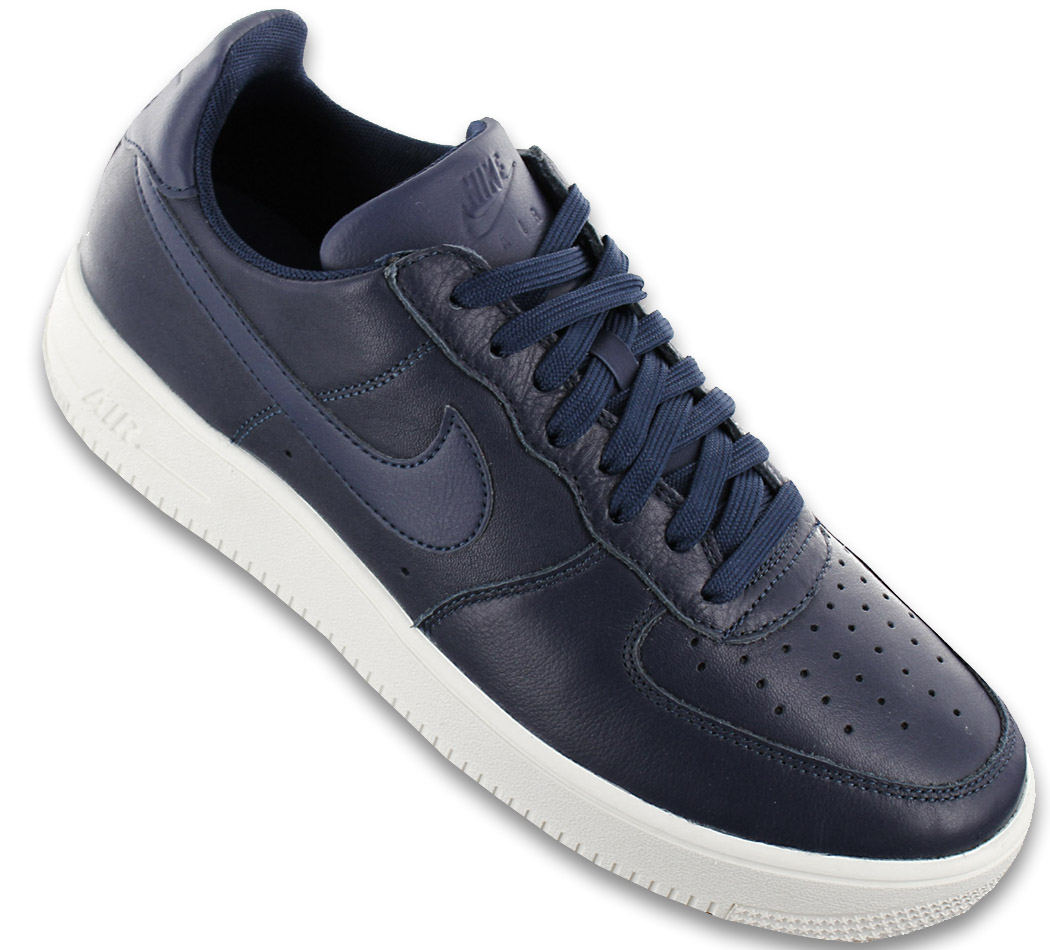 Details about Nike Air Force 1 Ultraforce Leather Men's Sneaker Shoes Blue One 845052 403