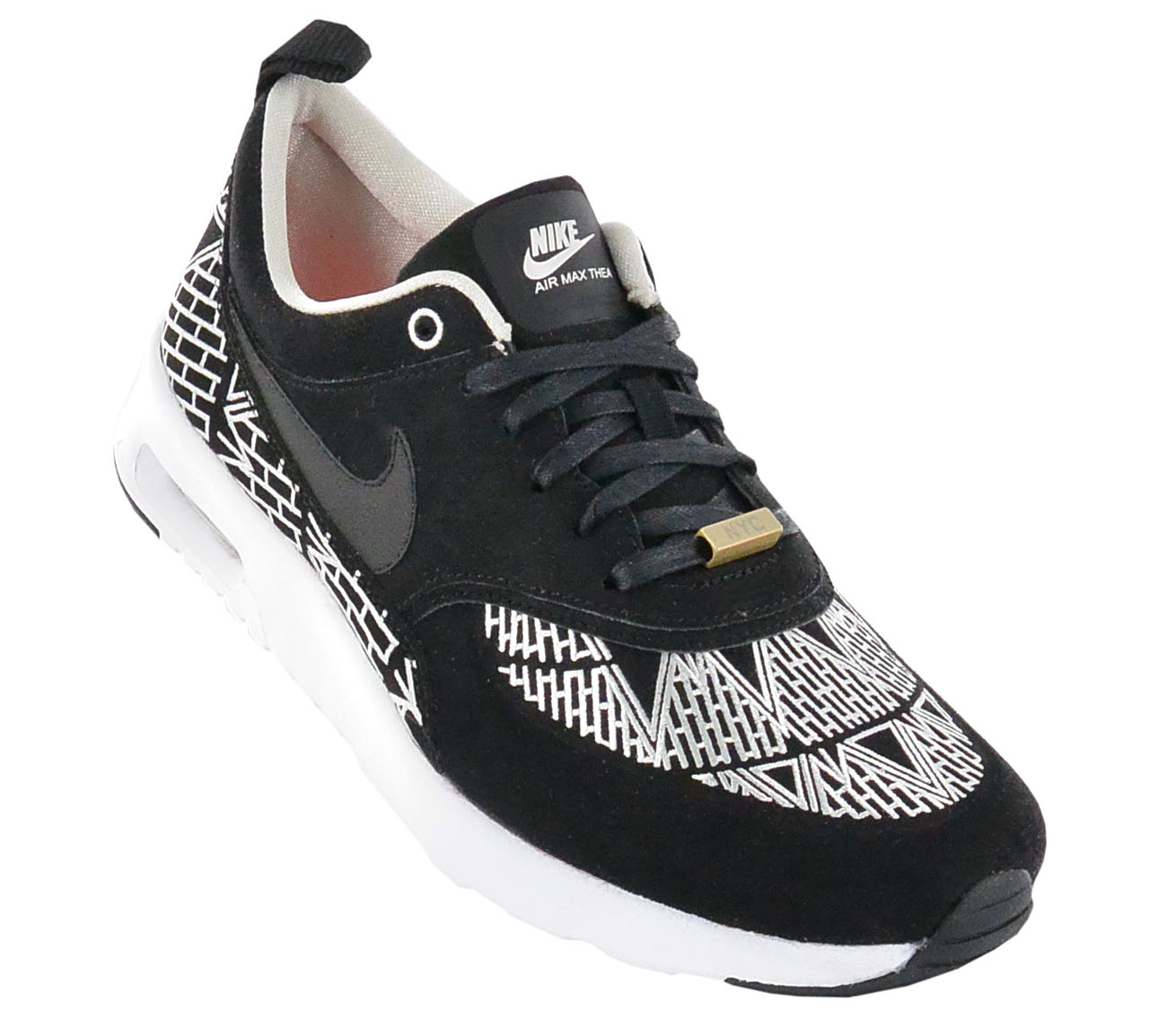 énorme réduction ac269 3dcd5 Details about Nike Air Max Thea Qs New York Shoes Women's Sneakers Special  Model Sneakers