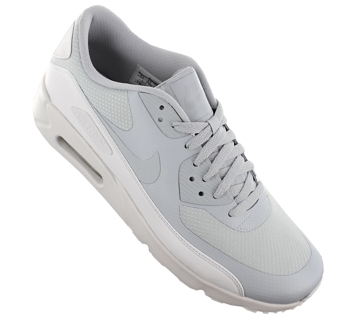 outlet store 11167 bcfbc Nike Air Max 90 Ultra 2.0 Essential Men s Sneakers Shoes Grey 875695 ...