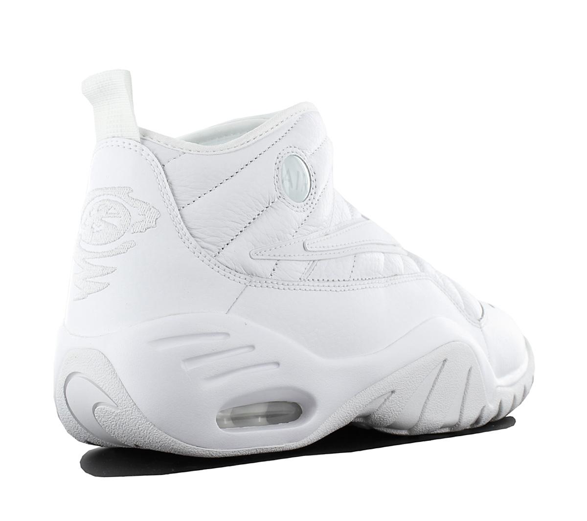 9d1fc3ef73af Nike Air Max Shake Ndestrukt Men s Shoes Basketball Leather White ...