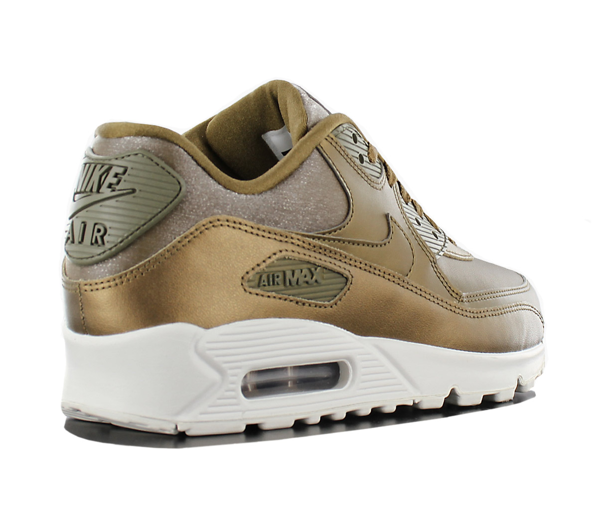 NEU Nike Air 90 Premium Damen Schuhe Gold Edition 901
