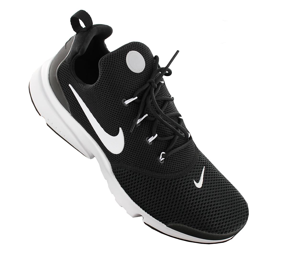 Detalles acerca de Nike Presto Fly Para Hombre Zapatos Negro