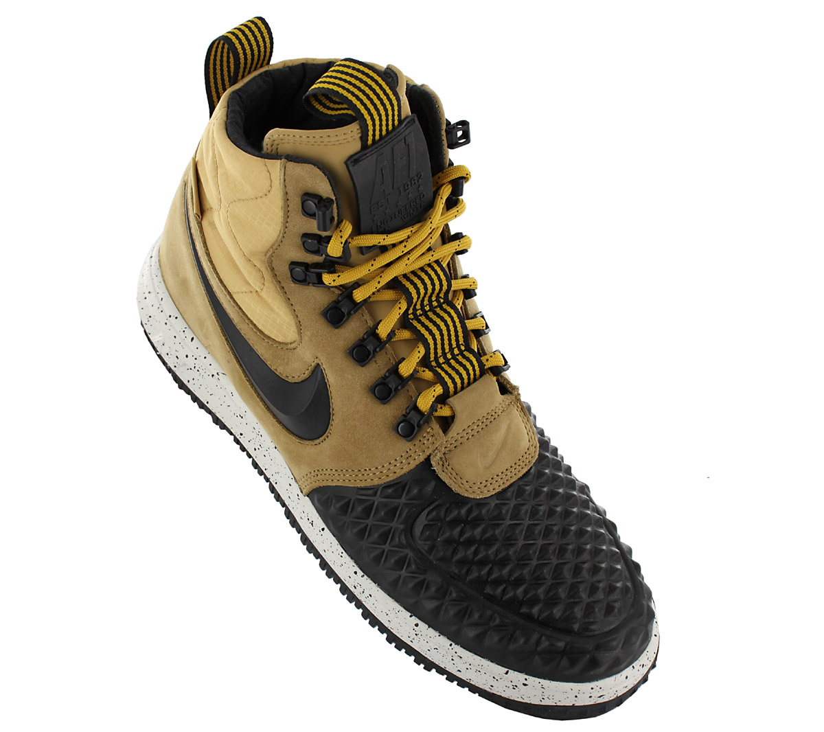 ... wholesale dealer de9f2 9c299 Nike Lunar Force 1 Duckboot 17 Shoes Mens  Sneakers Leather A ... 24a4782bf2