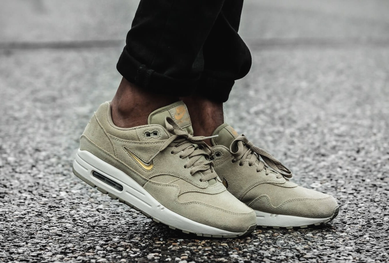 Details about Nike air max 1 Premium Sc Men's Sneaker 918354 201 Olive Green Sneakers Shoes