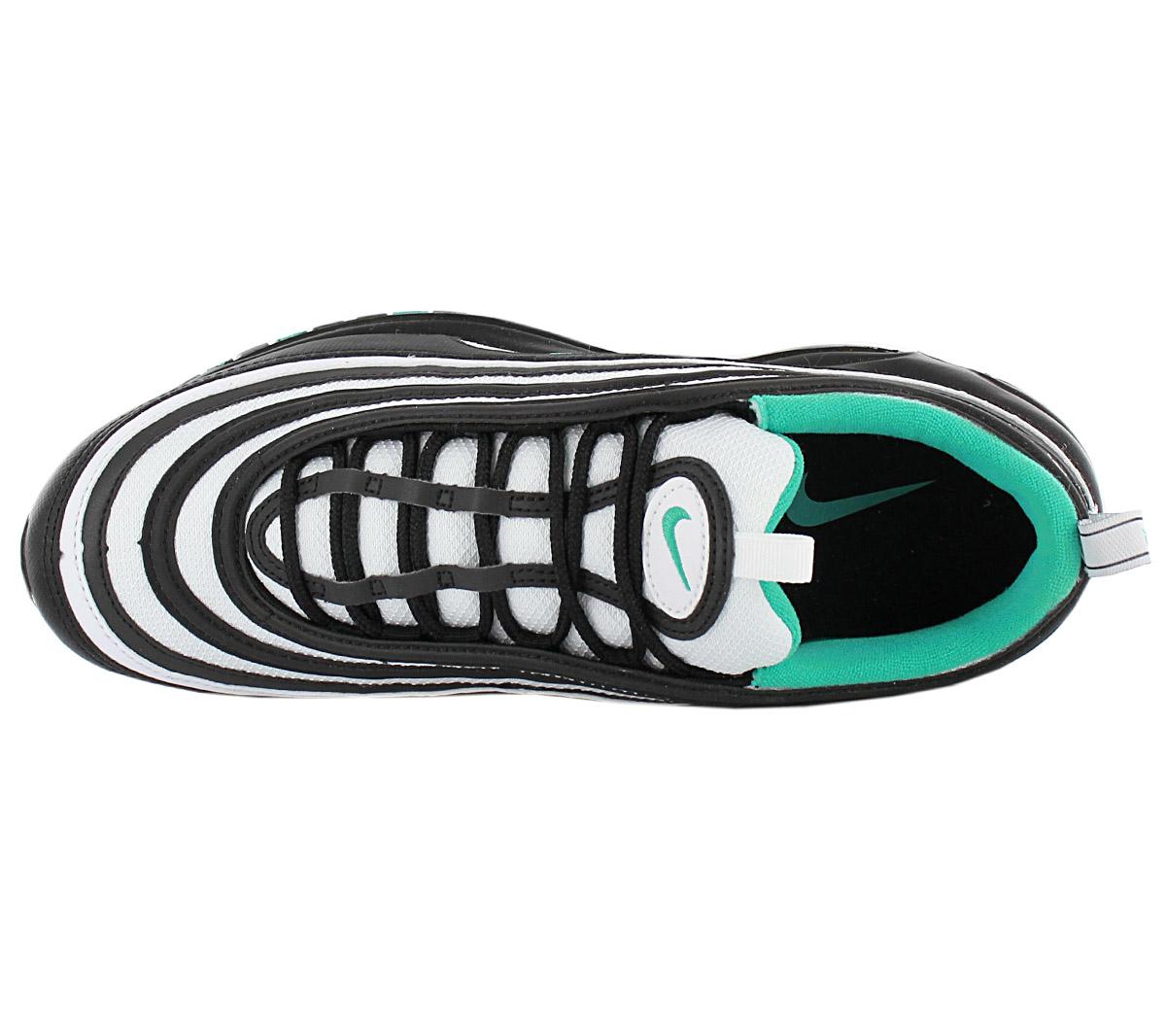 Nike air max 97 Men's Premium Sneaker 921826013 Black Green