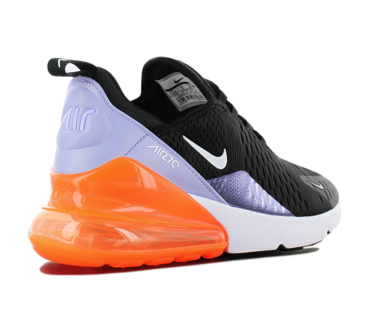 Details about Nike air max 270 Sneaaker Women's Shoes 943346 004 Black Leisure Shoe New