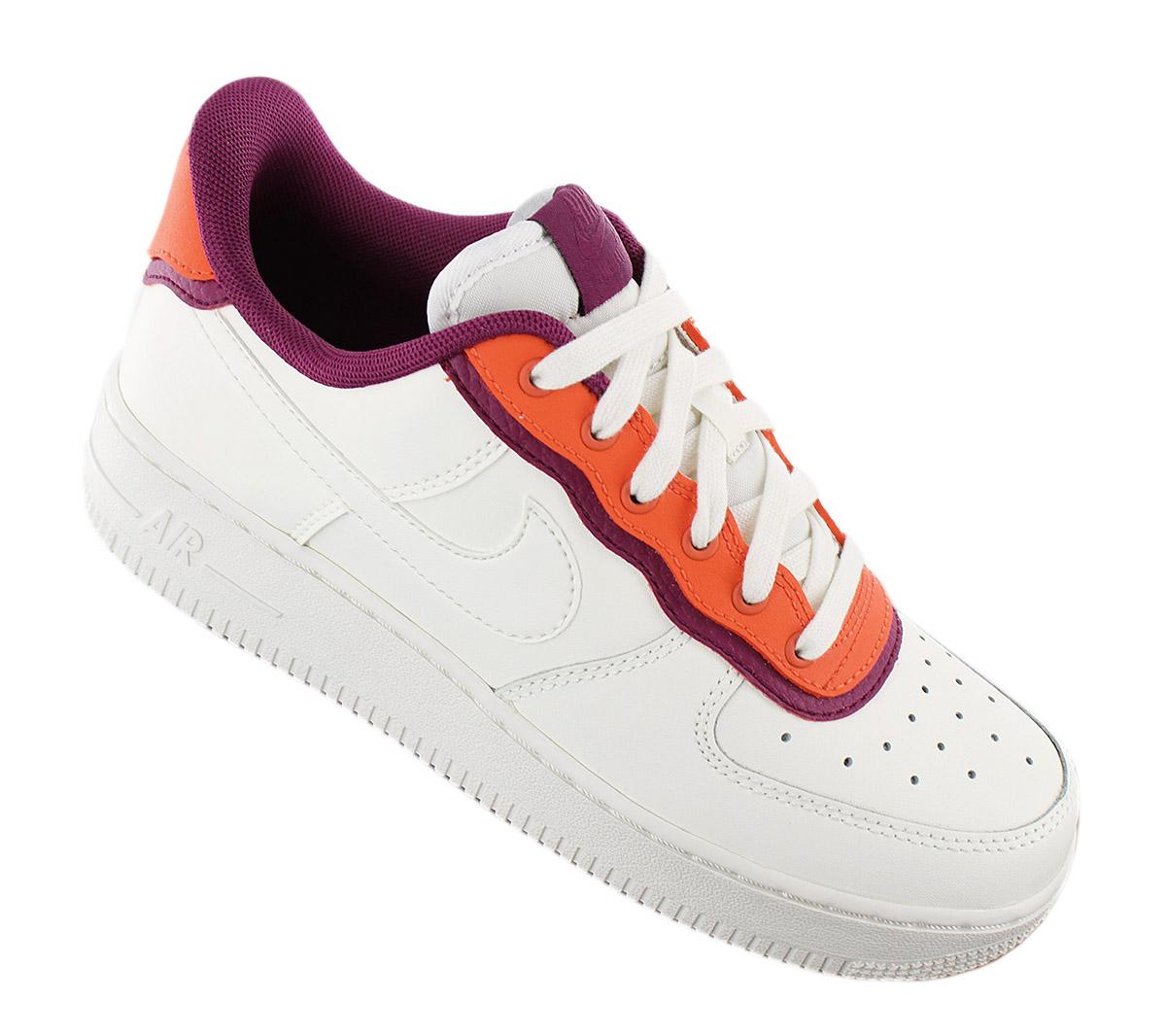 Détails sur Nike Wmns Air Force 1 07 Se Femme Sneaker AA0287 104 Blanc Chaussures de Sport