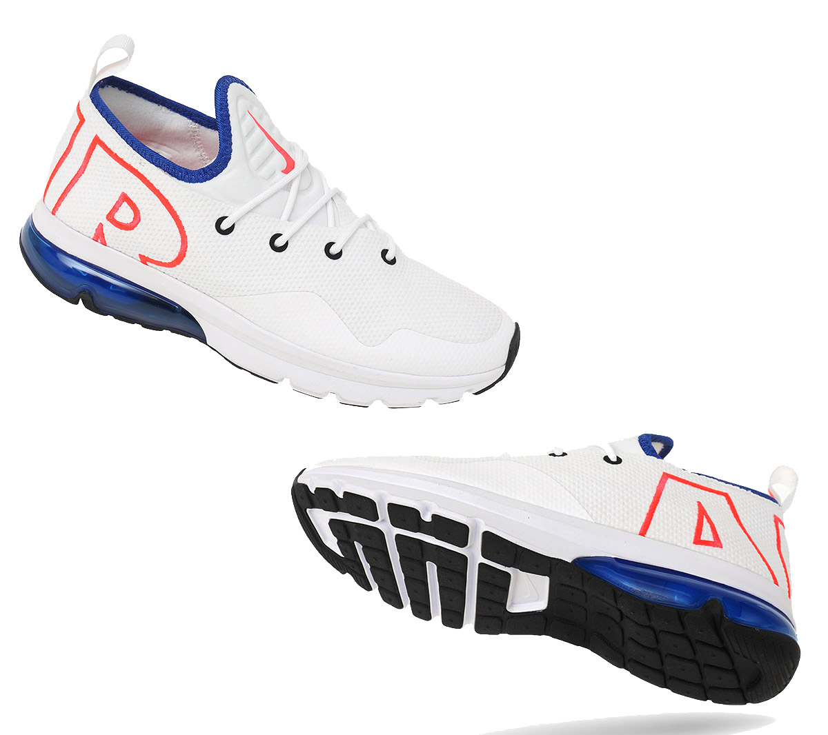new arrival d032e baa26 Nike Air Max Flair 50 Men s Sneakers Shoes White Sneakers 270 AA3824 ...