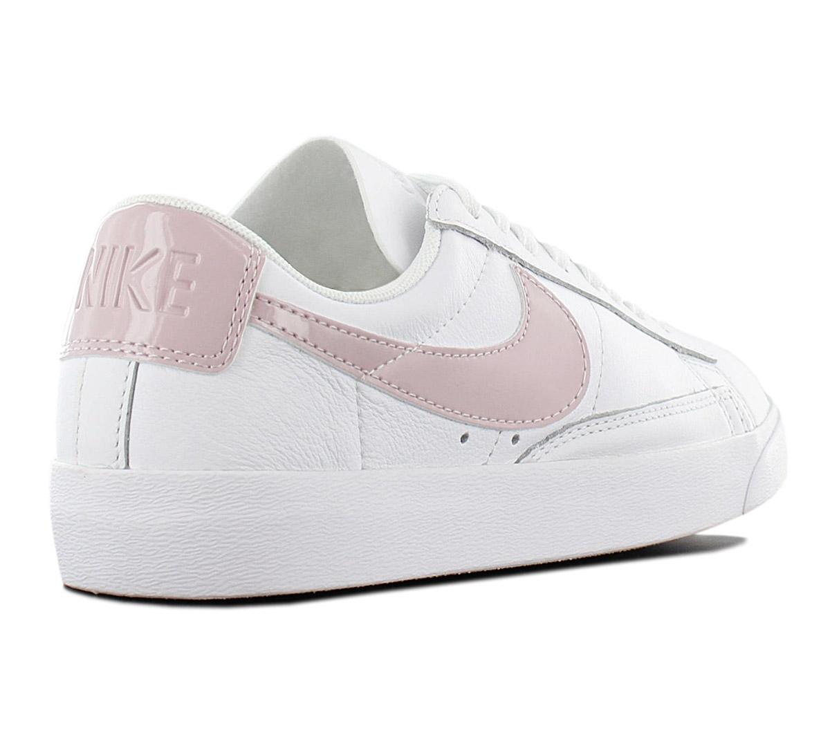 Dettagli su Nike Blazer Low le Donna Sneaker AA3961 105 pelle Bianco Scarpe Ginnastica Nuovo