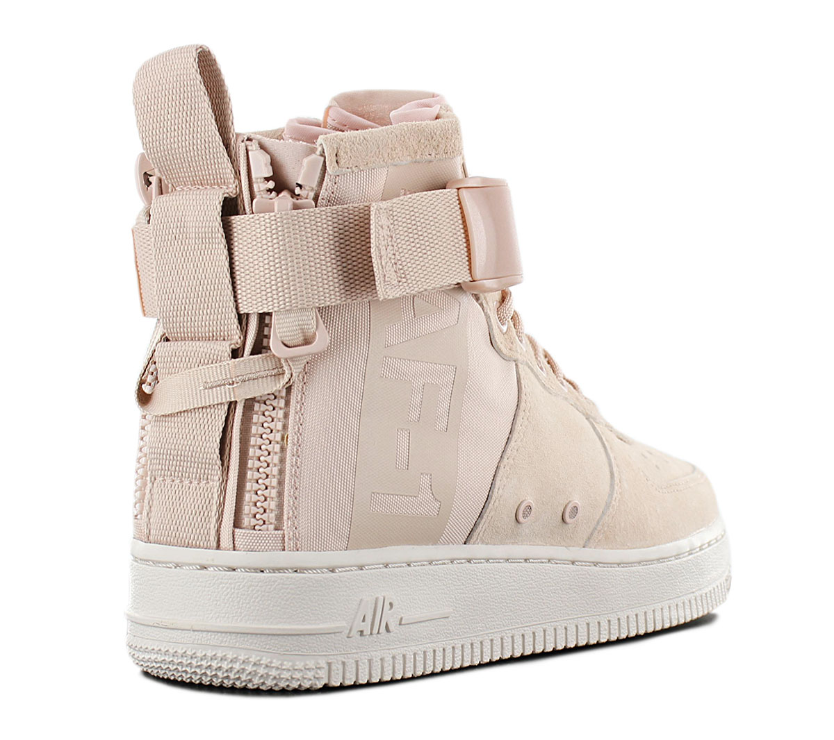 Details about Nike Air Force 1 mid Sf AF1 Women's Sneaker AA3966 201 Beige Shoes Sneakers New