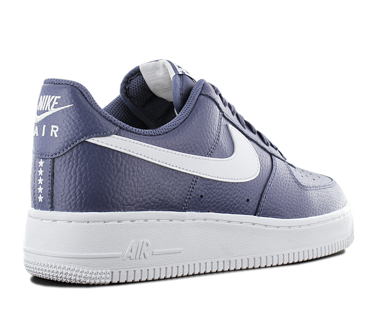 Details about Nike Air Force 1 One Low 07 Men's Sneakers Shoes AA4083 401 Leather Blue New
