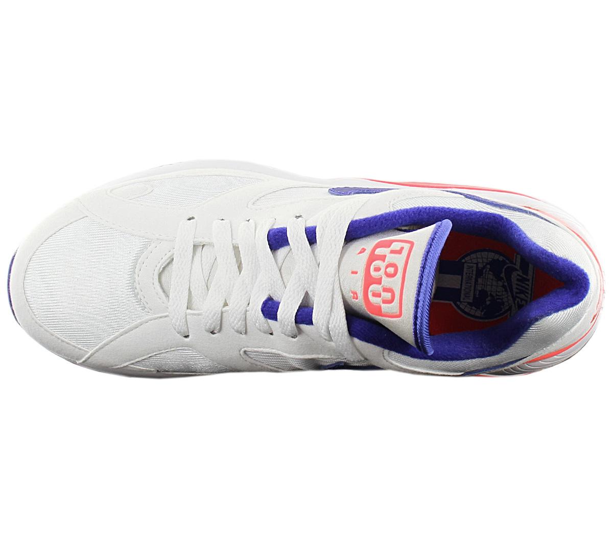 Nike Schuhe Air Max 180 AH6786 100 WhiteUltramarineSolar Red
