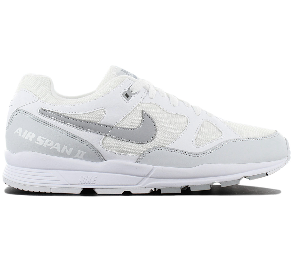 Details about Nike Air Span 2 Men's Sneaker AH8047-105 White Shoes Casual  Trainers New