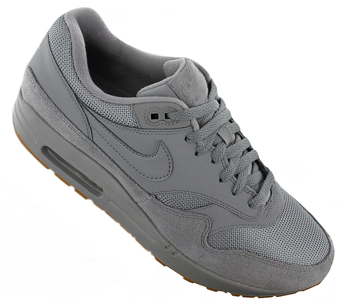 buy popular 54fac 5ff7e Nike Air Max 1 Men s Sneakers Shoes Grey Ah8145-005 Trainers Sport ...