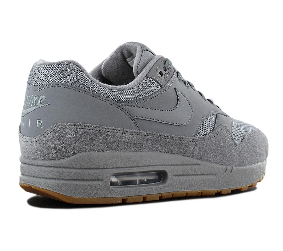 buy popular 51f32 c77f8 Nike Air Max 1 Men s Sneakers Shoes Grey Ah8145-005 Trainers Sport ...