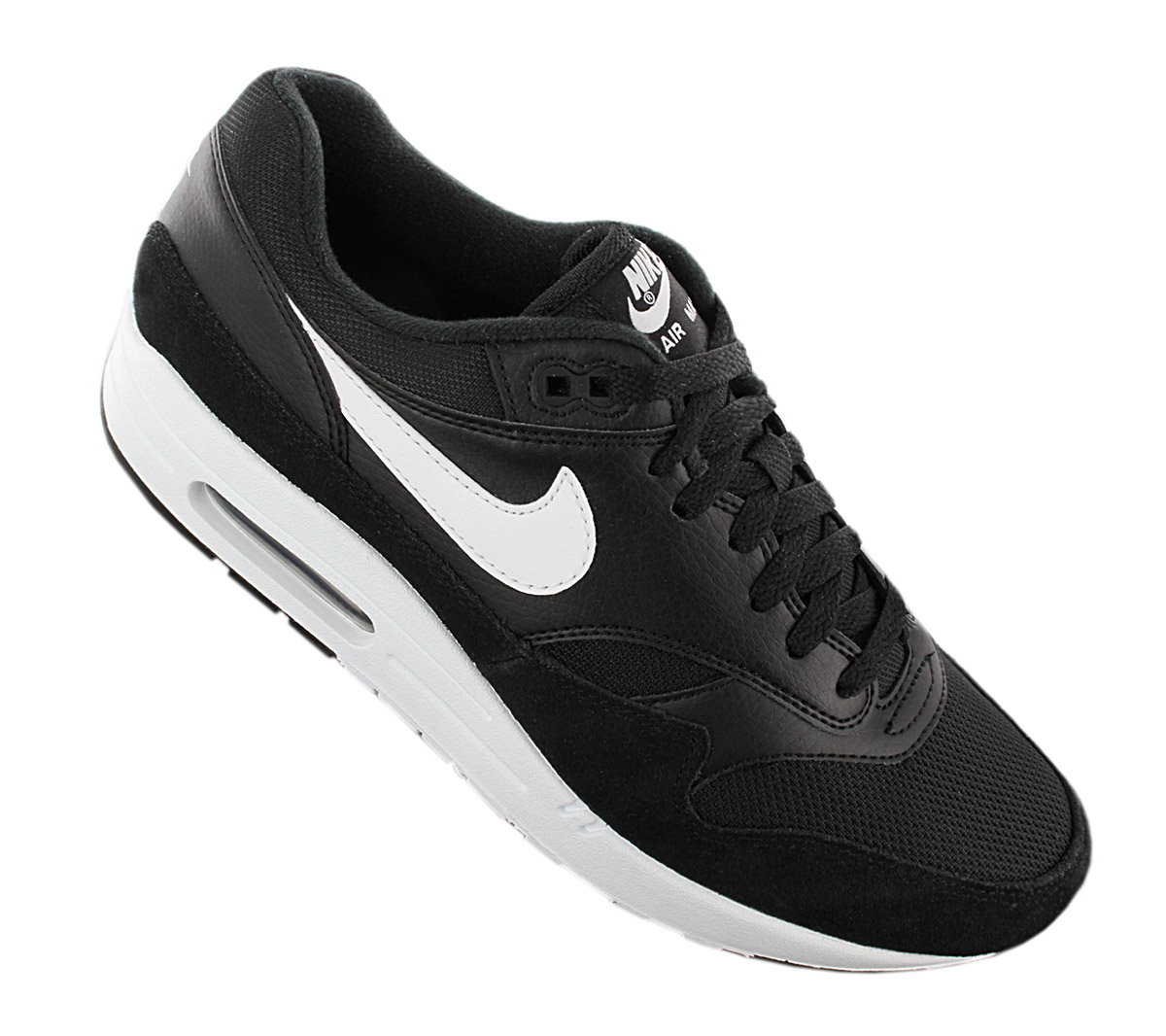 Details zu Nike Air Max 1 Herren Sneaker AH8145 014 Schwarz Schuhe Fashion Turnschuhe NEU