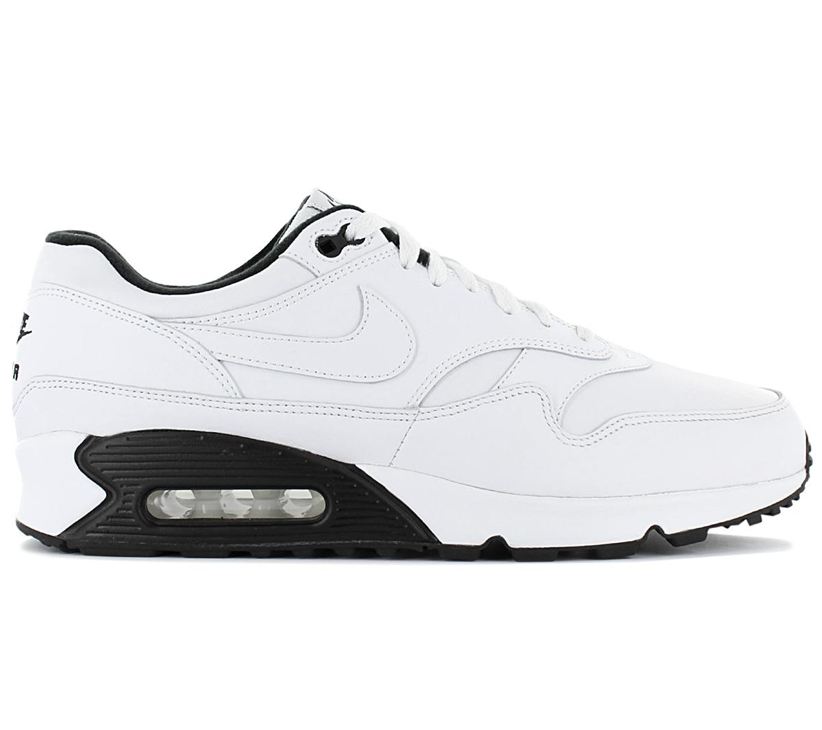 Details zu Nike Air Max 901 Leather Herren Sneaker AJ7695 106 Leder Weiß Herren Sneaker