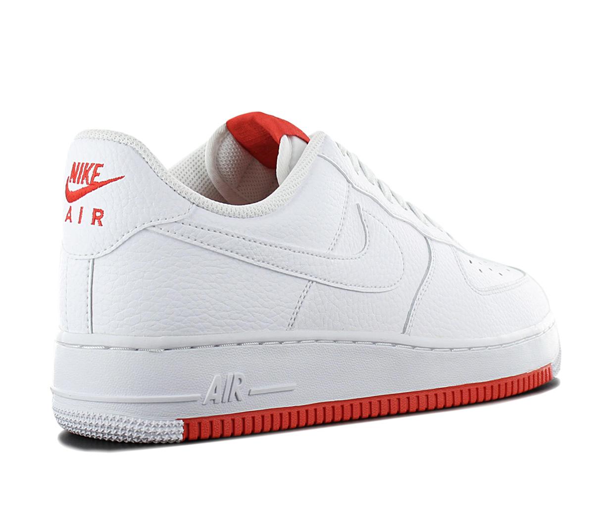 Details zu Nike Air Force 1 Low 07 Herren Sneaker AO2409 101 Weiß Leder Schuhe Turnschuhe