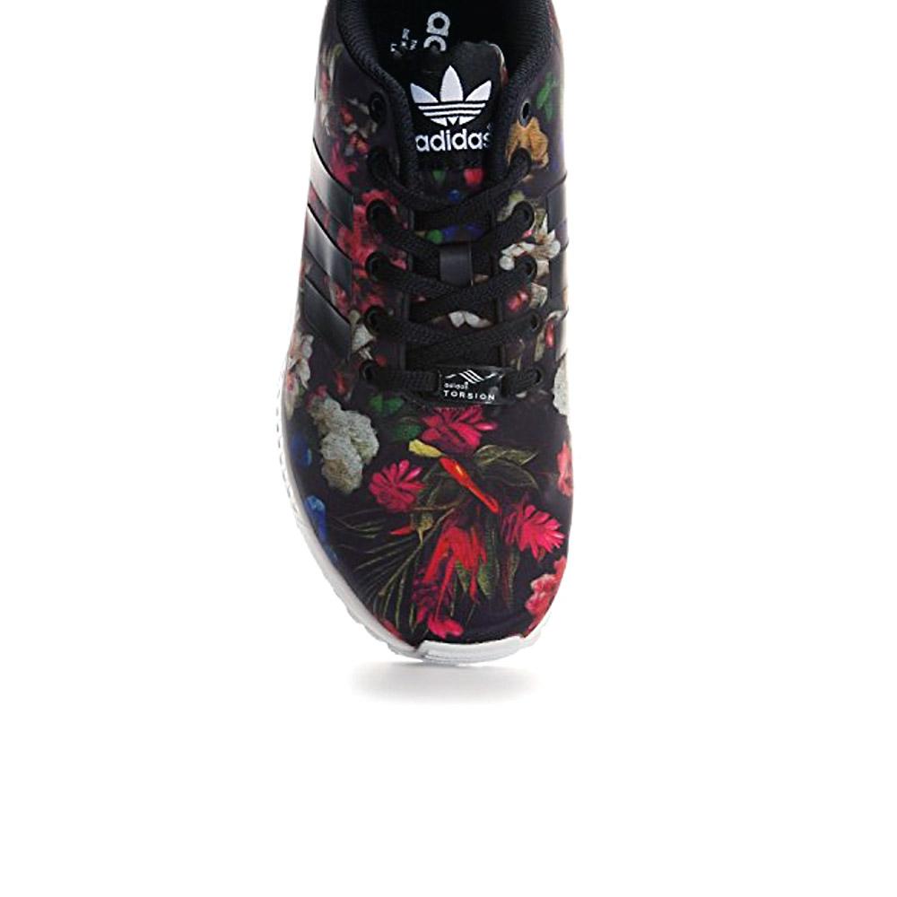 d07de38949f376 adidas Originals ZX Flux W FLORAL Schuhe Damen Sneaker Blumen-Print ...
