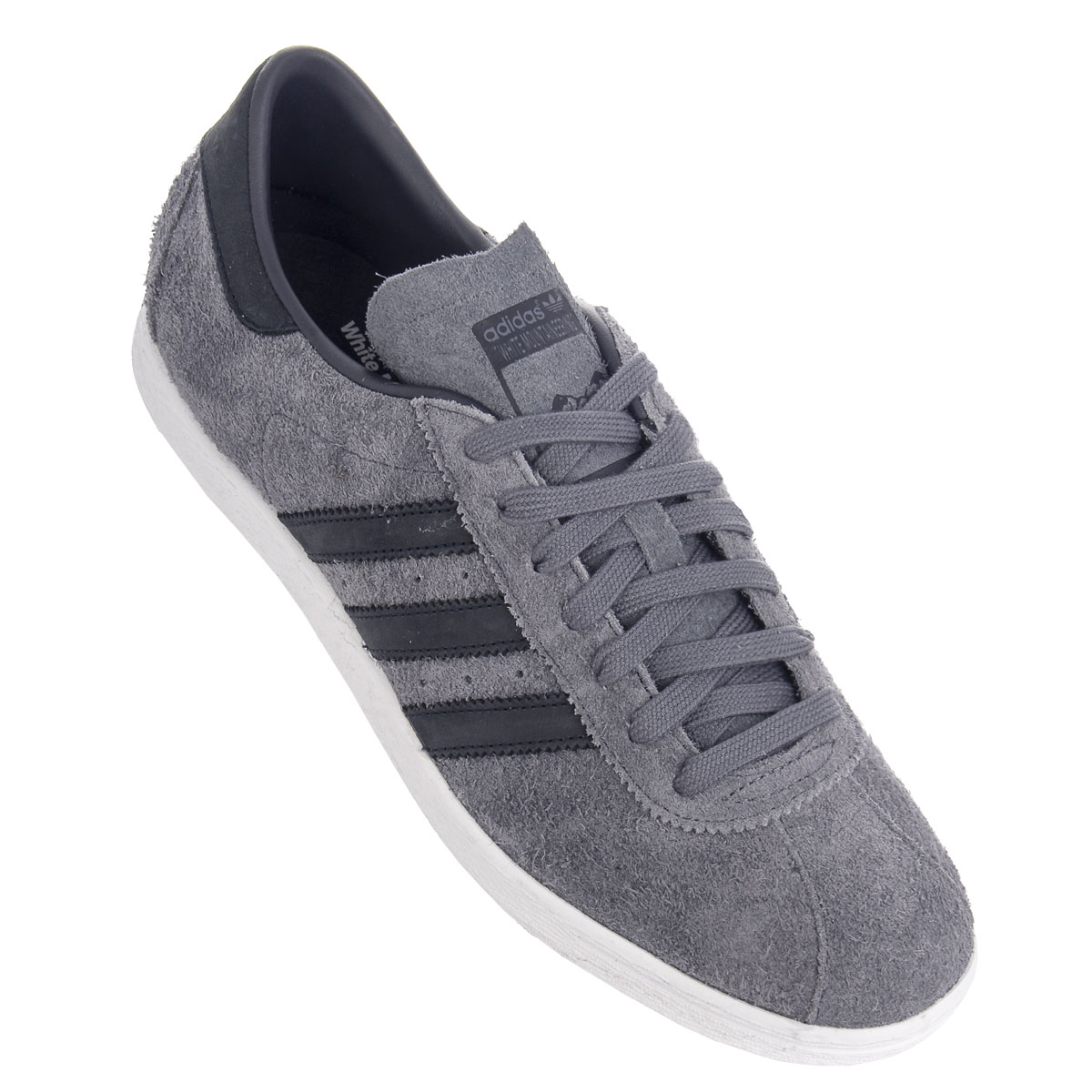 285b060aac7 Adidas Originals x White Mountaineering Tobacco Sneaker Grey Leather ...