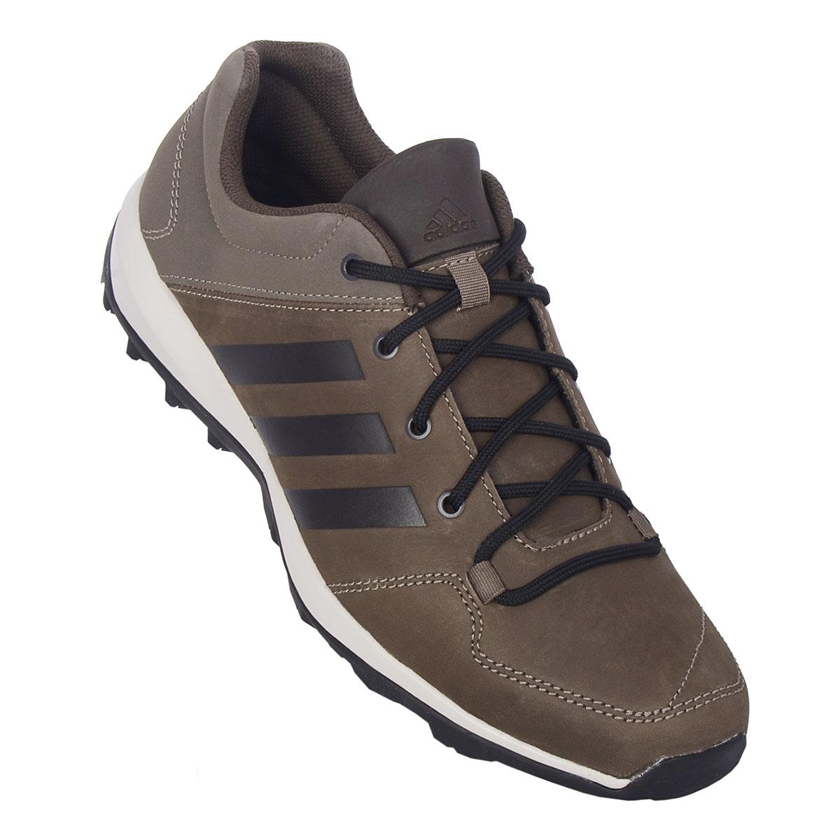 quality design b00fb 0dd5f NEU adidas Daroga Plus Lea Herren Schuhe Braun AQ3978 SALE