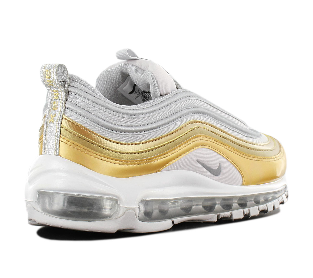 d81cc2ca1ba98f NEU Nike Air Max 97 SE Special Edition Damen Schuhe Silber-Gold ...