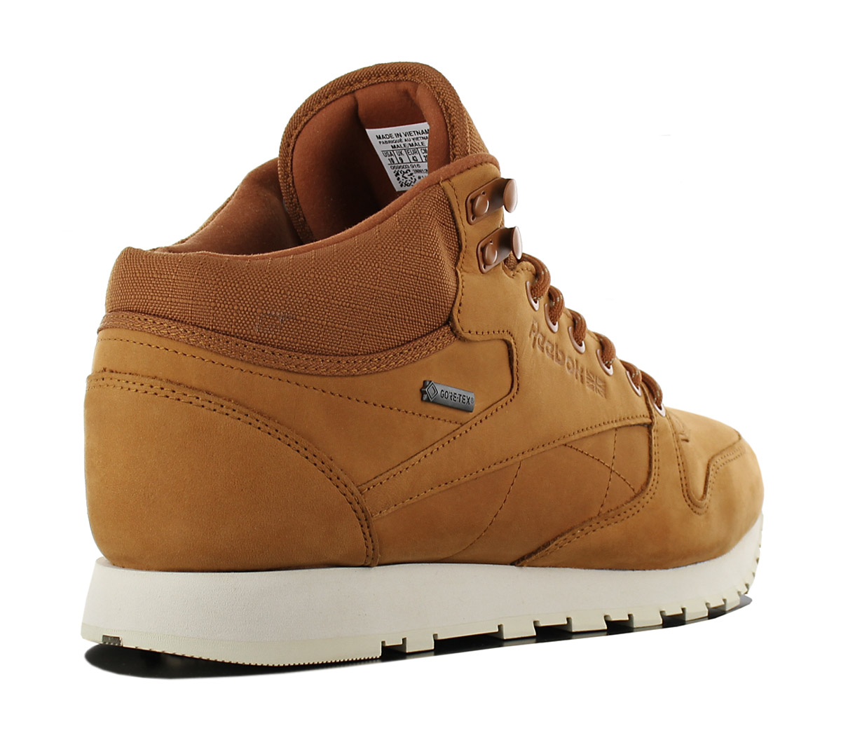 3bbcb5a4f0e Reebok Classic Leather mid Gore-Tex Men s Sneakers Boots Shoes ...