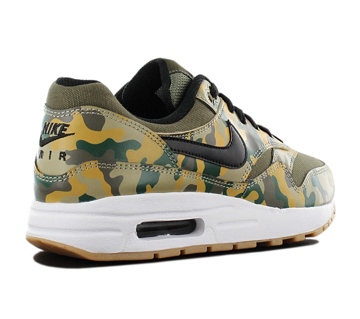Details zu Nike Air Max 1 Print Camouflage Sneaker AR1139 200 Damen Freizeit Schuhe NEU