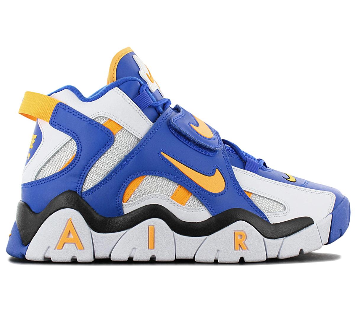 Dettagli su Nike Air Barrage Mid Uomo Sneaker AT7847 100 Scarpe da Basket Ginnastica Nuovo
