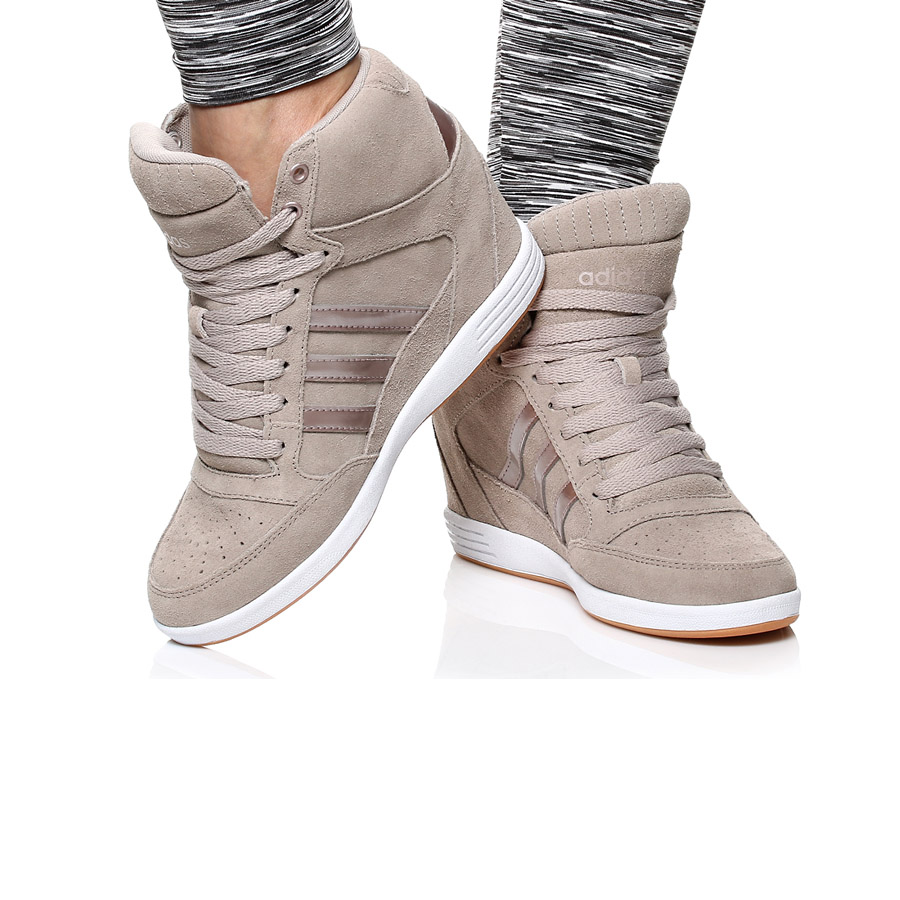 adidas super wedge w beige damen schuhe plateau. Black Bedroom Furniture Sets. Home Design Ideas