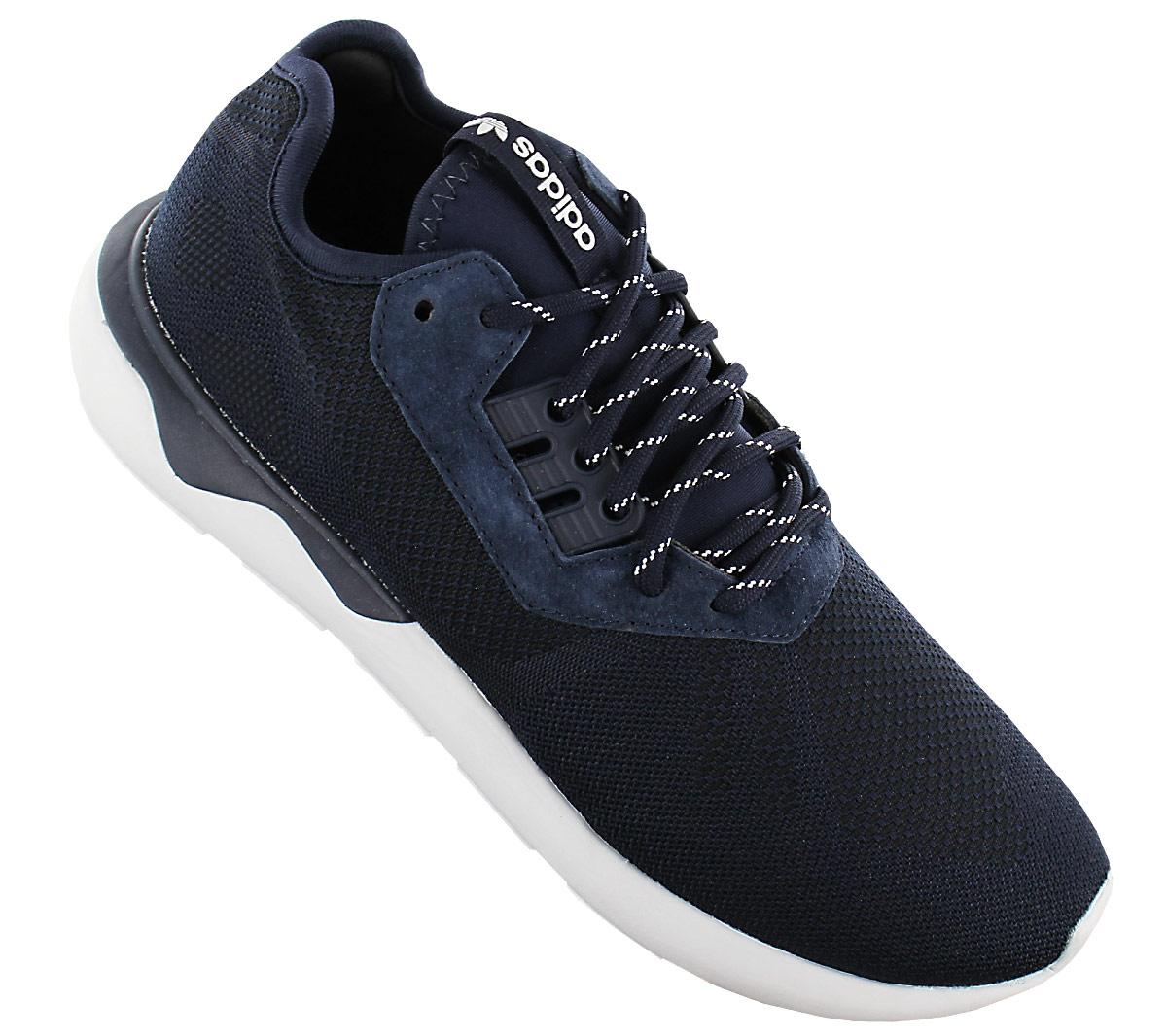 Details about Adidas Originals Tubular Runner Weave Men's Sneaker Shoe Blue B25596
