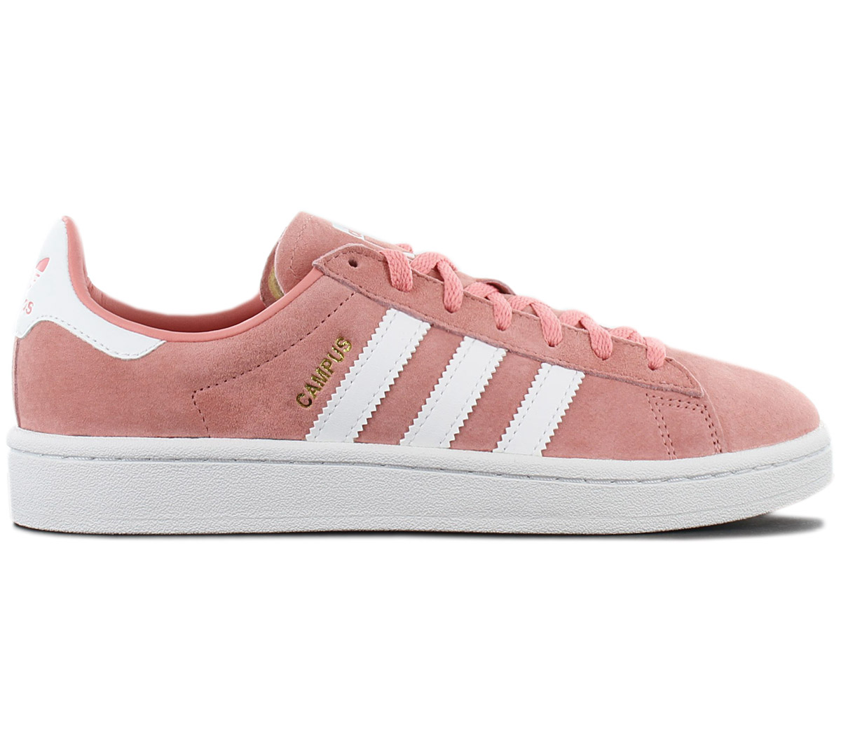 Women Men Adidas Campus W (Pink White) B41939 Tacros